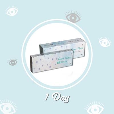 睛靈カラーコンタクト-透明1日使い捨て